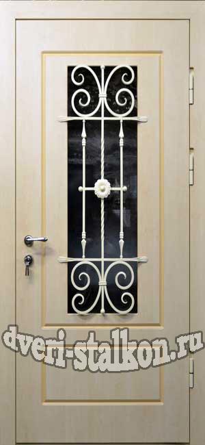 изготовление входных дверей со стеклопакетом