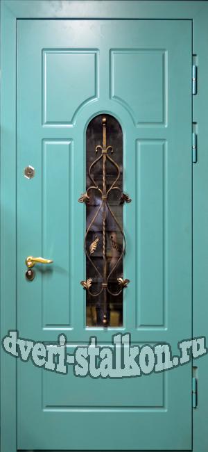 двери входные уличные с остеклением